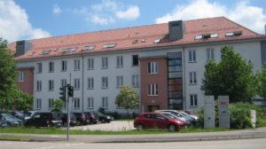 Firmengebäude der Firma AJCS in der Europaallee