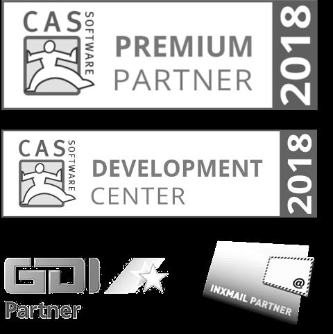 Partner: CAS, GDI, Inxmail