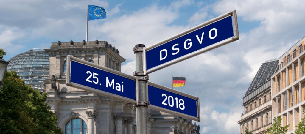 Reichstag Start der DSGVO 25. Mai 2018