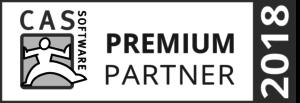 Partnerauszeichnung der CAS Software AG zum Premium Partner 2018