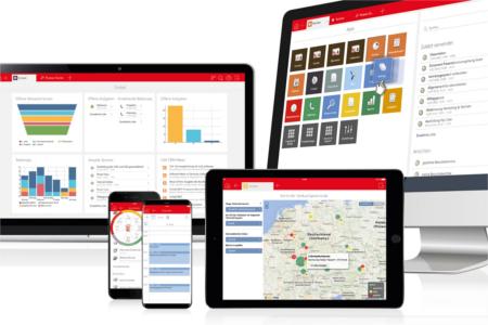 CAS genesisWorld App auf diversen Endgeräten