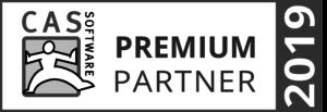 Auszeichnung als Premium Partner 2019 der CAS Software AG