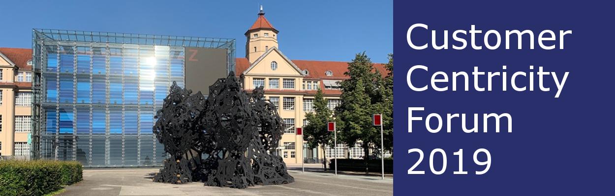 Beitragsbild Customer Centricity Forum im ZKM in Karlsruhe