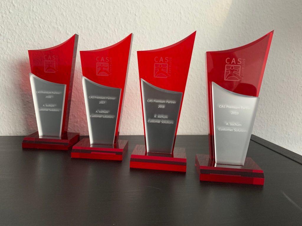4. Auszeichnung in Folge zum Premium Parnter der CAS Software AG