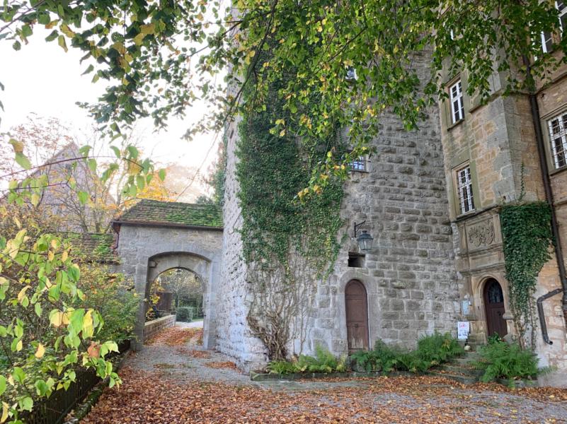 Burghof von Schloss Morstein