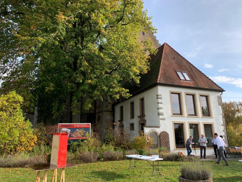Burgturnierplatz auf Schloss Morstein