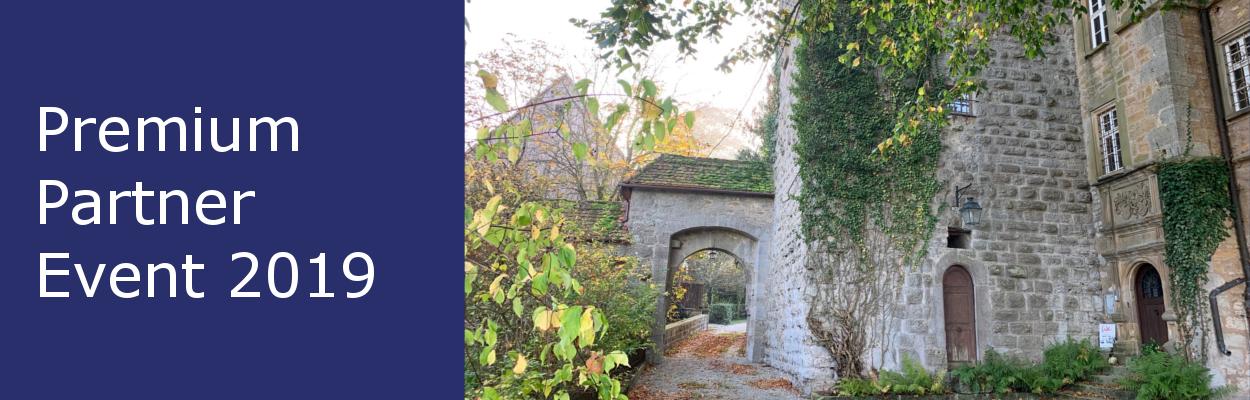 Beitragsbild zum Premium Partner Event 2019 auf Schloss Morstein