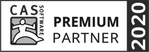 Auszeichnung als Premium Partner 2020 der CAS Software AG