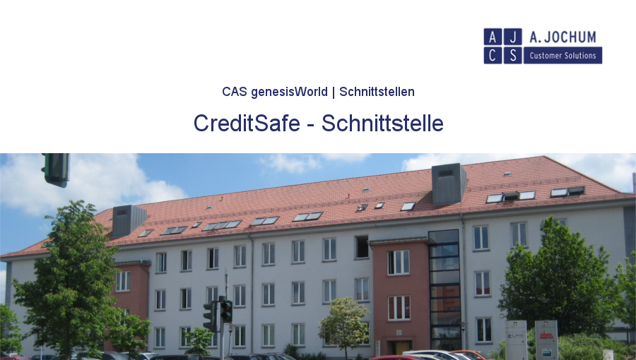 ajcs CreditSafe-Schnittstelle