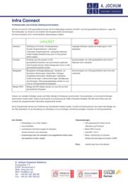 InfraConnect Prospektvorschau