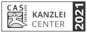 Auszeichnung als Kanzlei Center 2021 der CAS Software AG
